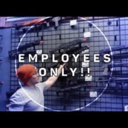 Employee ONLY!! DO NOT ENTER @ AMPED AIRSOFT